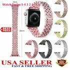 38/42mm iWatch Band Wrist Strap Bracelet Replacement For Apple Watch Series 5 4 image