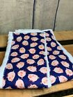 Baby Infant Burp Rags Cloths Boy or Girl Blue Pigs Material 100% Cotton Gerber