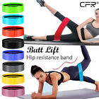 Wide Hip Resistance Bands Loop Circle Exercise Workout Fitness Yoga Booty Leg OB image