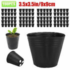 100PCS-Plant-Flower-Pots-Outdoor-Living-Garden-Nursery-Seedlings-Pot-Container