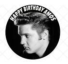 Elvis Presley fifties rock n roll birthday Party Cake Decoration icing sheet