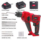 TOPEX 20V SDS+ Cordless Rotary Hammer Drill Kit 3.0Ah Battery Charger Accessory