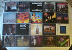 ROCK CD'S U-PICK FROM A LIST OF 20.....CD'S ARE EXCELLENT / CASE HAVE SOME WEAR