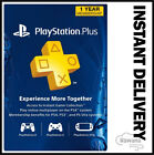 Sony PlayStation Plus 1 Year / 12 Month Membership Subscription Card - USA