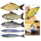 20cm Simulation Plush Fish Toy for Cat Dogs Chewing Exercise Funny Non-Toxic