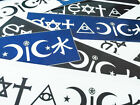 The ORIGINAL Eat A Dick - Atheist Coexist Parody Bumper Sticker Satire