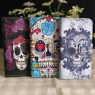 Used, Cooler Schädel Handyhülle Tasche Schutz Flip Case Für Nokia Blackberry Handy for sale  Shipping to South Africa