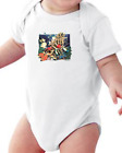 Infant Creeper Bodysuit One Piece T-shirt Tropical Fish k-254