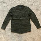 NWT Abercrombie Fitch AF Men's Cotton Military Shirt Jacket Overshirts 2 Colors