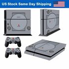 Vinyl Skin Cover Decal Sticker for Sony Playstation 4 PS4 Console + 2 Controller