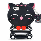 Case Cover For Touch 5 6 iPhone 11 Pro 5 6 7 8Plus Cute 3D Cartoon Silicone Kids