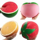 Large Super Giant Soft Squishy Watermelon​ Orange Strawberry Slow Risin Stretchy