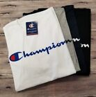 Authentic with TAG Champion Mens Jersey Script Logo Short Sleeves T Shirt