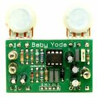 Baby Yoda Guitar Effect Pedal DIY Stompbox Kit emulates Buzzaround Fuzz