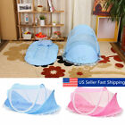 Foldable Infant Baby Mosquito Net Tent Mattress Cradle Bed Canopy Cushion   n image