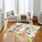 Baby Foldable Play Mat Soft Reversible Crawl Foam Mats For Child Activity Toy