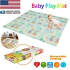Kyпить Baby Foldable Play Mat Soft Reversible Crawl Foam Mats For Child Activity Toy на еВаy.соm