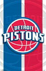 129843 Detroit Pistons Logo NBA Decor LAMINATED POSTER CA on eBay