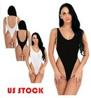 Women's Lingerie Backless Monokini See-through One Piece Thong Bodysuit Swimsuit