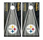 PAIR Pittsburgh Steelers Cornhole Board Wraps Skins Vinyl Decals HIGH QUALITY! $54.99 USD on eBay