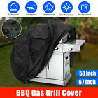 "BBQ Gas Grill Cover 58"" 67"" Barbecue Waterproof Outdoor Heavy Duty Protection US"