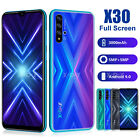 Cheap X30 New 6.6 Inch 16gb 2sim Unlocked Android Mobile Smartphone Phone Xgody