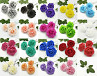 25 Artificial Flowers Rose Floral Bridal Wedding Bouquet Home Party Decoration