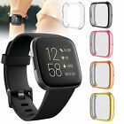 Full Coverage HD Clear Lightweight Screen Protector Cover Case For Fitbit Versa2
