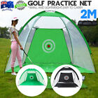 2M Golf Practice Driving Hit Net Cage Training &Cutting Hole Indoor / outdoor