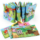Kid Baby Intelligence Development Soft Cloth Cognize Books Early Education Toys