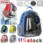 Astronaut Space Window Breathable Travel Bag Transparent Pet Carrier Backpack