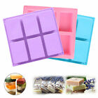 Silicone DIY Cold Processing Mold Soap Cake Toast Baking Loaf Rectangle Tools US