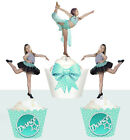 CUSTOM dance Calisthenics Jazz theatre Birthday Party Cupcake Toppers cup cake