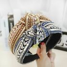 1pcs Hair Hoop Headband Knotted Sequin Handmade Headband Women Girls Headwear