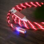 US LED Glow Light Magnetic Type-C Micro USB Charging Charger Cable For Samsung