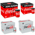 Coke Zero Sugar Diet Cock Pack of 24 330 ml Cans Fizzy Drink Coca-Cola Brand New £16.9  on eBay