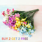 28 Head Artificial Silk Orchid Bouquet Fake Flower Floral Party Home Decor