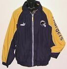 Vintage 90's San Diego CHARGERS Puma Light JACKET SEWN LOGOS NFL ProLine NWT $75.0 USD on eBay