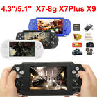 8GB 4.3''/5.1'' Handheld PSP Game Console Player Portable Video Game Consoles UK