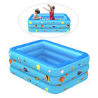 Inflated Swimming Pool Lounge Paddling Pools for Kids for Family Garden