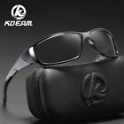 KDEAM Men Cycling Outdoor Sports Sunglasses Vintage Shades UV400 Protection