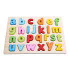 Gifts Alphabet Board Jigsaw Digit Learning Stereoscopic Wooden Brain Training O3