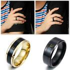 Unisex Magic Mood Rings Temperature Measurement Ring Gift Thermometer G4t4