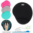 Slip High Quality Solid Mat With Wrist Rest Support PC Comfortable Mouse Pad