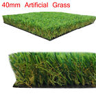 Luxury 40mm CHEAP Artificial Grass Astro Turf Realistic Fake Lawn Green Garden