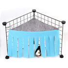 Guinea Pig Toy Hammock Pet House Tassel Corner Clothes Tent Shelter Hideaway NEW