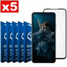 5 Pieces Film Tempered Glass 9H Honor 20 - 20 PRO Curved Scratchproof Total