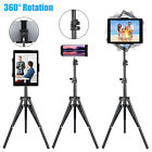 Height Adjustable Floor Bed Stand Mount Holder for iPad 4-12'' Tablet/Kindle/Nex