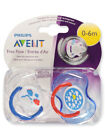 Avent 2-Pack Orthodontic Free Flow Pacifiers