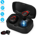 True Wireless Bluetooth 5.0 Earbuds Stereo Noise Cancelling Headphones Earphones